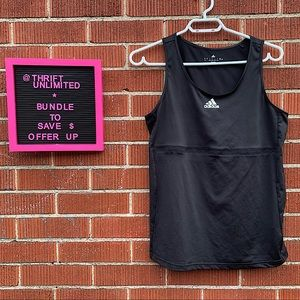 Adidas climacool scoop neck tank top Like New